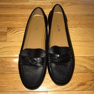 COACH penny loafer. Size 9 1/2